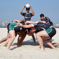 Jumeirah College Takes on the Dubai Rugby Sevens
