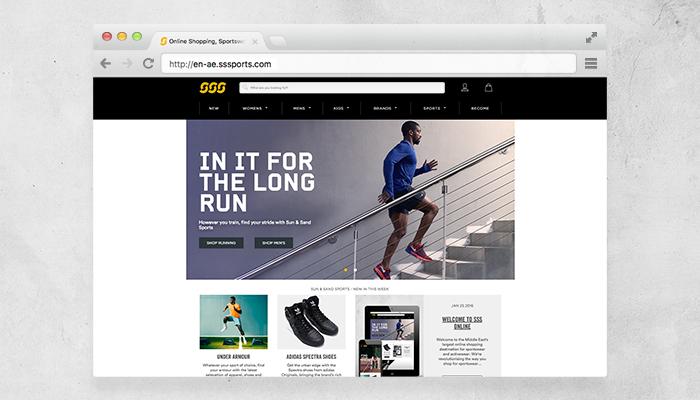 Sun & Sand Sports - e-commerce
