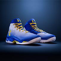 سدد الرميات الساحقة مثل ستيفان كاري مع حذاء كرة السلة كاري 2.5 من اندر ارمر