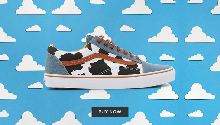 To Infinity And Beyond With The Vans X Toy Story Collection