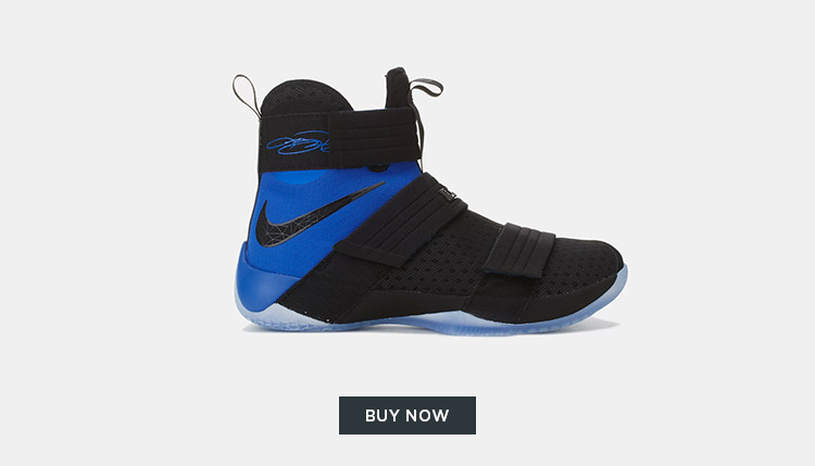The Nike Lebron Soldier 10 SFG Shoe Has Landed