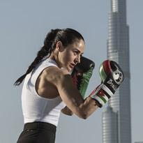 الملاكمة مع عريفة بسيسو وتطبيق نايك للتمارين الرياضية