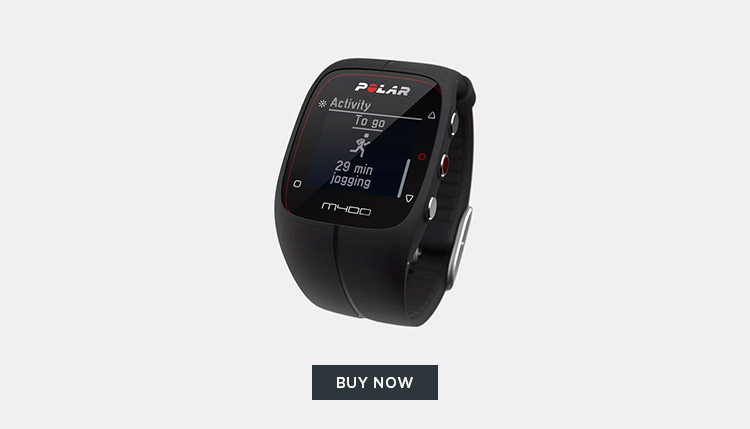 Own Your Fitness Goals With The Polar M400 HR Watch
