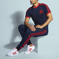 Look Of The Week: Stand Out In adidas Originals Tracksuits