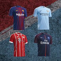 Rise For Glory With 2017/18 Football Kits