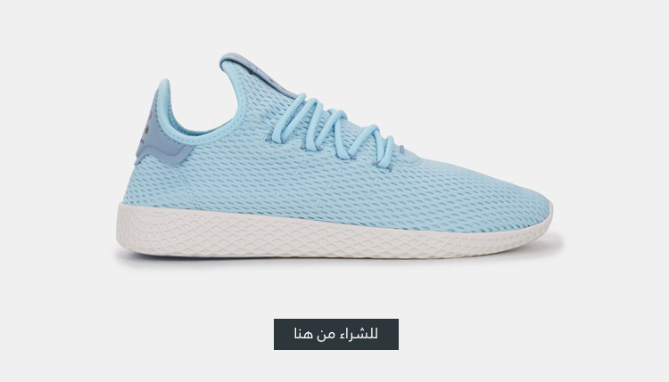 حذاء التنس فاريل وليليامز هو من اديداس اورجينال ازرق