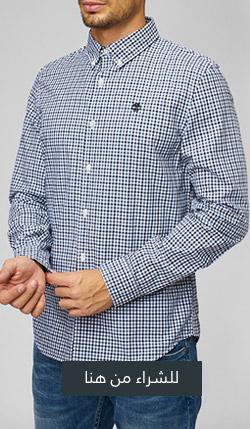 قميص سنكوك ريفر سلِم فِت جينغام من تمبرلاند