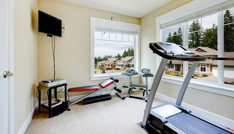 New Year Home Fitness