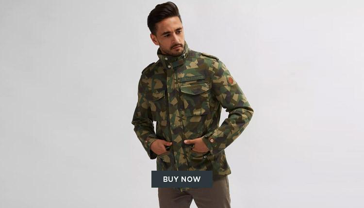 Timberland Camo Jacket Mens Dubai