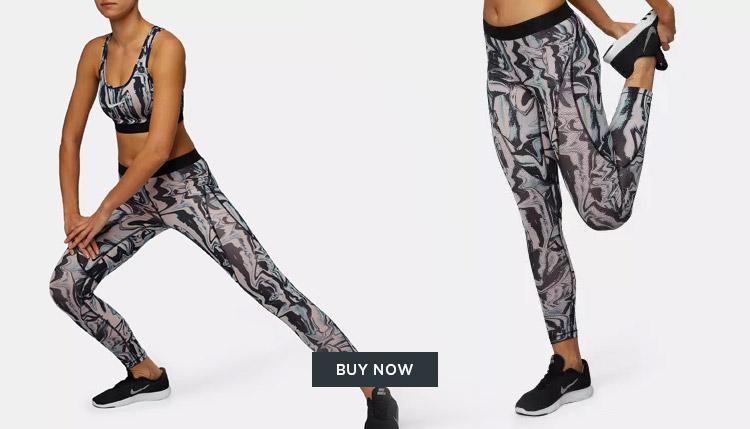 Nike Marble Leggings DUBAI