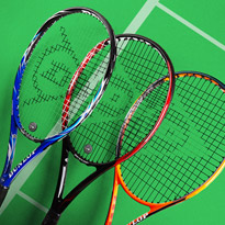 Tennis Talk: Dunlop Rackets