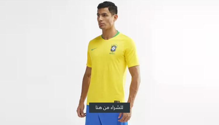 قميص منتخب البرازيل الأساسي 2018 فيبور ماتش من نايك