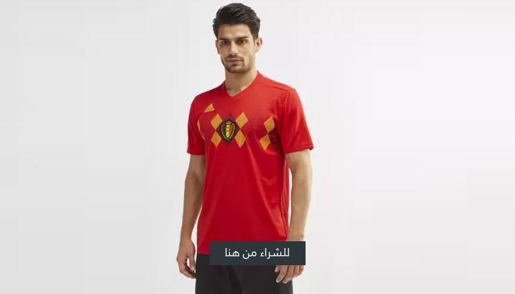 قميص منتخب بلجيكا الأساسي لكرة القدم 2018 من اديداس