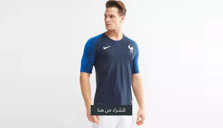 تيشيرت منتخب فرنسا لكرة القدم 2018 فيبور الأساسي من نايك