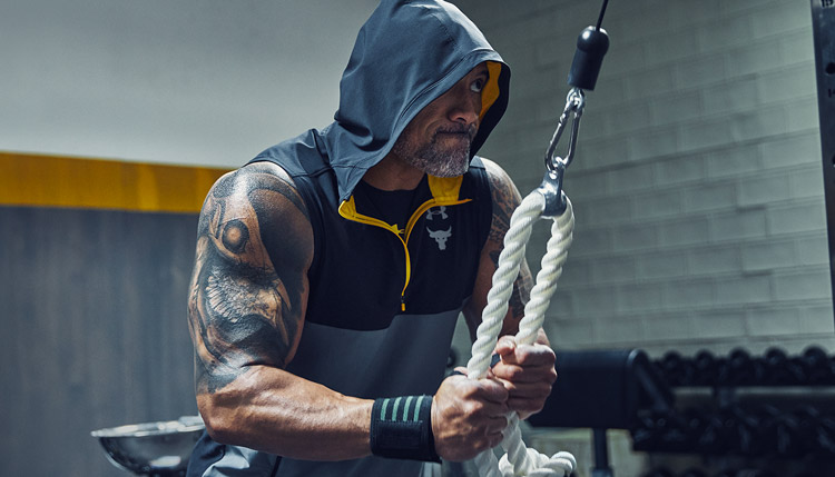 The Rock workout playlist