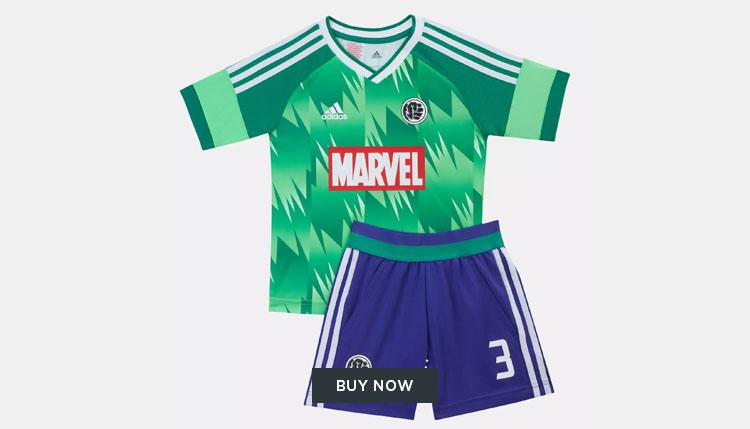 adidas Marvel football kit