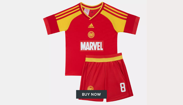 adidas Marvel football kit in Abu Dhabi