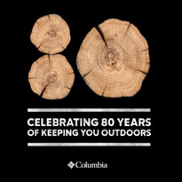 Columbia: Celebrating 80 Years Of Keeping You Outdoors