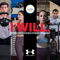 WIN A TRIP TO TOKYO AT THE UNDER ARMOUR FITNESS CHALLENGE