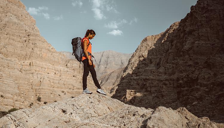 Hiking in Jabal Jais, Ras Al Khaimah