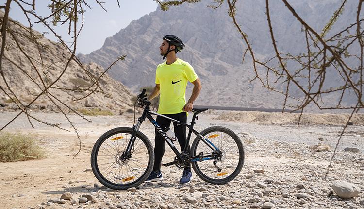 Cycling in Jabal Jais, Ras Al Khaimah