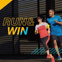 RUN & WIN CHALLENGE WITH ASICS AND SSS