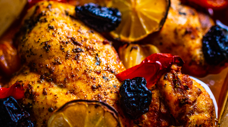 Chicken with Roasted Vegetables - Healthy Iftar Recipes for This Ramadan