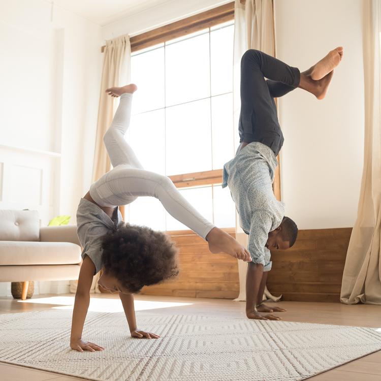 10 تمارين سهلة وممتعة للاطفال
